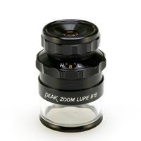 虫眼鏡 スケールルーペ ピーク PEAK ズームスケール ルーペ 8-16倍 0.1mmメモリ