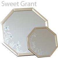 風水八角 スイートグラント 八角形 スタンドミラー SSサイズ SWG-15 パラデック Sweet Grant Octagon Stand Mirror 鏡 ミラー 風水ミラー 八角形 開運ミラー スタンドミラー インテリア