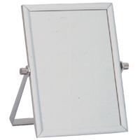 アネシー アルミニウムスタンドミラー Mサイズ AN-006 パラデック Annecy Aluminium Stand Mirror 鏡 卓上 ミラー 卓上ミラー スタンドミラー