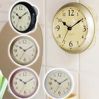ディシェル シャワークロック DEC-115 パラデック 時計 シャワークロック お風呂 バスルーム 吸盤付き 掛け時計 Deciel Shower Clock
