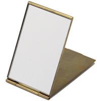 オディエ 真鍮ミラー コンパクトミラー Sサイズ アンティーク仕上げ ミラー 鏡 コンパクトミラー