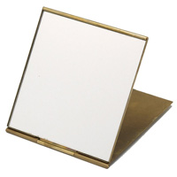 オディエ 真鍮ミラー コンパクトミラー Mサイズ ミラー 鏡 コンパクトミラー