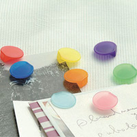 トピック カラークリップ/グラスマーカー 8色セット 目印 クリップ グラスマーカー コップ おしゃれ シンプル