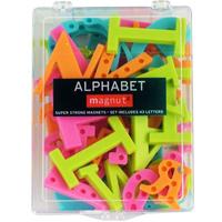 アルファベット マグネット 43個入り 磁石 文具 ディスプレイ