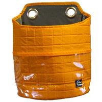 マッシュナイロン・キルティング ユーティリティーポケット Lサイズ オレンジ 小物入れ マグネット 収納