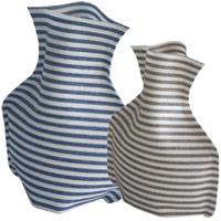 布 フラワーベース コッティ 花びん 花瓶 布製 花瓶