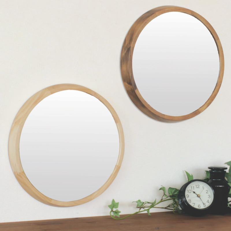 アコウスティック[Acoustic] ウッド ウォールミラーL Paladec 鏡 木製 おしゃれ 壁掛け ミラー インテリア オシャレ ナチュラル リビング