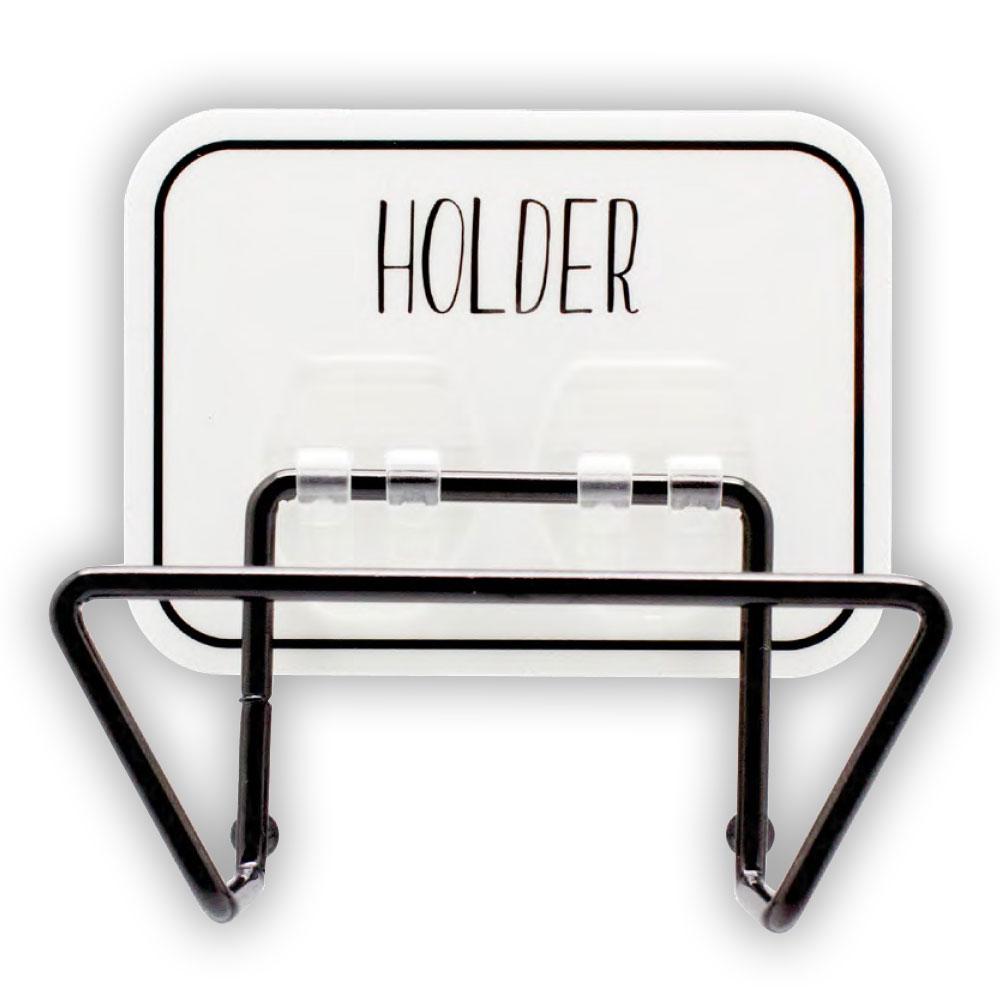 オテル マジックシートフック ワイドホルダー おしゃれ おすすめ タブレット iPad スタンド ラック 収納 キッチン スチール お風呂 壁掛け