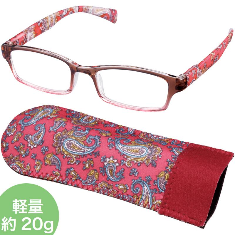 老眼鏡 COSTADO [コスタード] LTシリーズ LT-P001 BR/RD 女性 おしゃれ シニアグラス レディース プレゼント