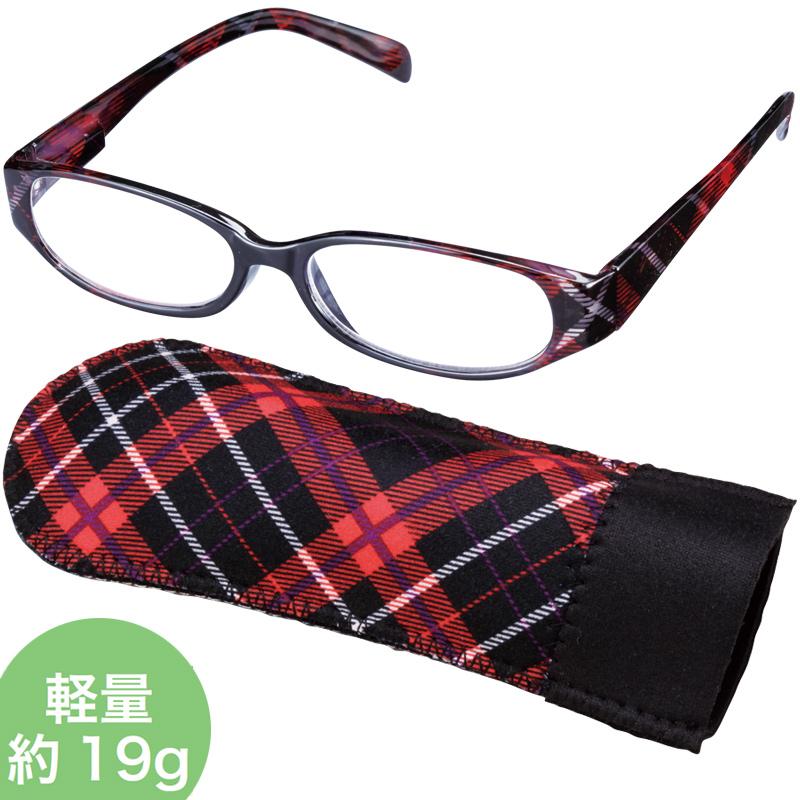 老眼鏡 COSTADO [コスタード] LTシリーズ LT-P006 BK/RD 女性 おしゃれ シニアグラス レディース プレゼント