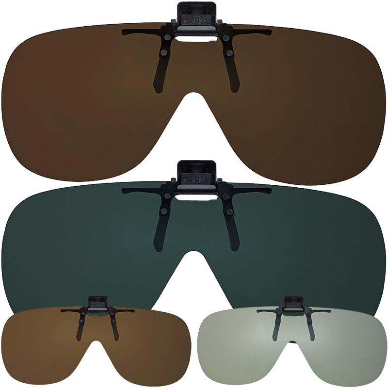 SHADE CONTROL シェードコントロール SC-05 サングラス UVカット 偏光 メガネ 取り付けタイプ クリップ ドライブ アウトドア