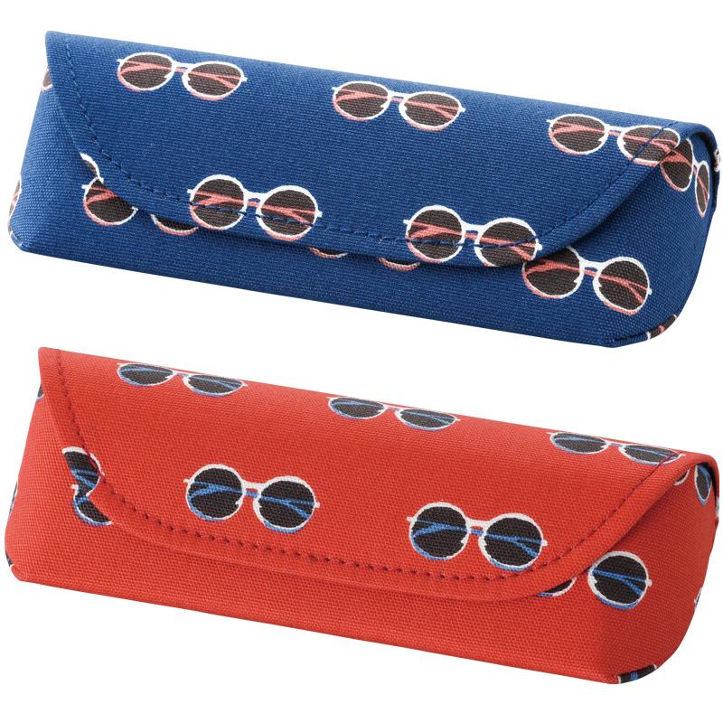 メガネケース セミハード マグネット式 HFU-85 メガネ かわいい おしゃれ 眼鏡ケース めがね 眼鏡小物