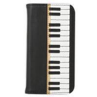 i Phoneカバー ピアノ ムシカ iPhone 携帯 ケース 革 ケータイケース かわいい ピアノ ロジエ Rosier ロジエ Rosier