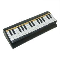 メガネケース ピアノ ムシカ Musica メガネケース 牛革製 めがねケース Musica かわいい ロジエ Rosier ロジエ Rosier