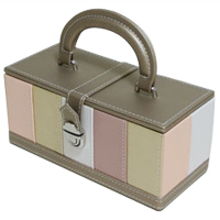 ソーイングケース ストライプ ソーイングボックス 裁縫箱 裁縫セット ロジエ Rosier