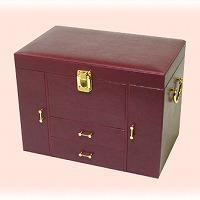 メイクアップ ボックス フェイクレザー メイクボックス ギフト 化粧箱 ロジエ Rosier