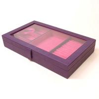 ジュエリーケース ジュエリーボックス 革製 ジュエリーケース 宝石箱 アクセサリー ケース ロジエ Rosier