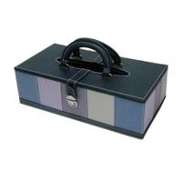 ティッシュケース ストライプ ティッシュケース 合成皮革製 ティッシュカバー ティッシュボックス ロジエ Rosier