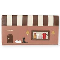 革長財布 (レディース) 財布 さいふ 長財布 カフェ ショコラ 牛革 財布 お祝い プレゼント ギフト かわいい ロジエ Rosier