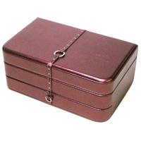 ジュエリーボックス S フェイミー ジュエリーケース ジュエリーケース 宝石箱 収納 アクセサリーケース 合成皮革製 ロジエ Rosier