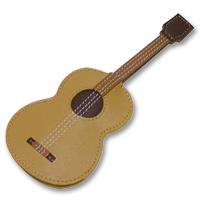 キーケース ギター ムシカ レザーキーケース 革製 牛革製 かぎ入れ Musica ロジエ Rosier