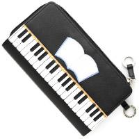 ピアノ財布 さいふ 長財布 ムシカ 財布 牛革製 かわいい ロジエ Rosier Musica ロジエ Rosier