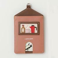 ハウス パスケース カフェ パスケース 定期入れ 高島屋 ギフト プレゼント 革製 革小物 ロジエ Rosier