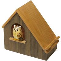 スマホハウス もく福ろう 木製 ふくろう ハンドメイド 手作り 手彫り 小物いれ プレゼント ロジエ Rosier ロジエ Rosier