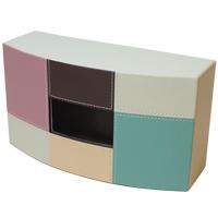 モザイク ティッシュボックス MS-011 ティッシュ ティッシュケース ボックス おしゃれ かわいい ロジエ Rosier
