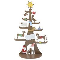 いろ アイ ツリー IR-004 クリスマス オーナメント 飾り 北欧 小物 プレゼント ツリー マグネット 置物