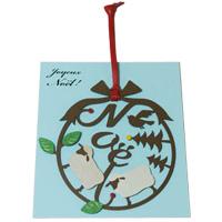 いろ アイ リース 羊 IR-007 クリスマス オーナメント 飾り 北欧 小物 プレゼント