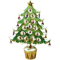 クリスマスツリー XM-007 クリスマス オーナメント 飾り 北欧 小物 プレゼント