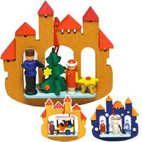グラウプナー 城門 クリスマス オーナメント 飾り 北欧 お城 ツリー 小物 プレゼント