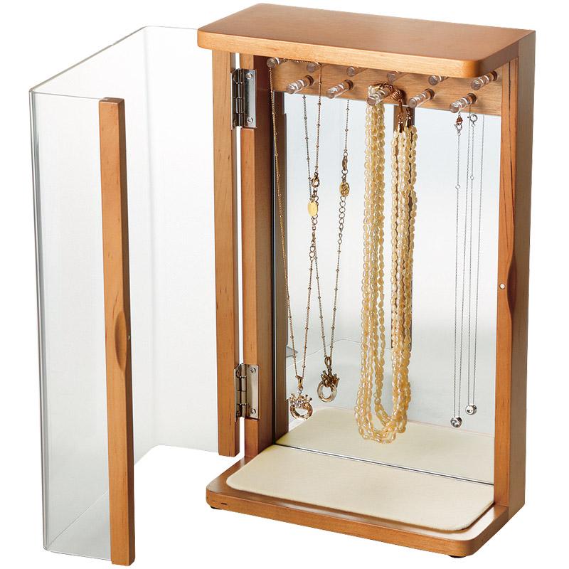 かわいい ギフト ロジエ おしゃれ ネックレススタンド 宝石箱 プレゼント ジュエリーボックス 小物入れ Rosier アクセサリーボックス
