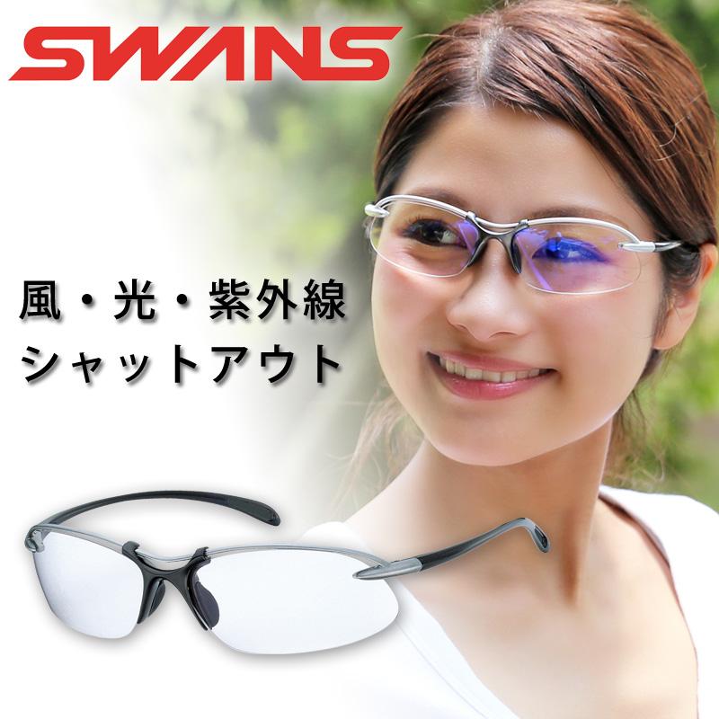 サングラス エアレスウェイブ SA-506 スポーツグラス ゴルフ UV 紫外線 カット SWANS スワンズ