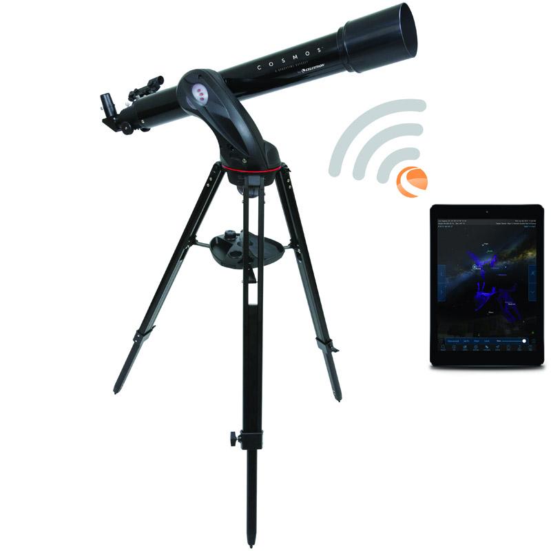 天体望遠鏡 スマホ連動 WIFI対応 屈折式 セレストロン COSMOS 90GT WIFI CE21023 CELESTORON