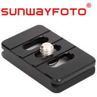 汎用クイックリリース・プレート Universal QR Plate 26mm Black DP-26 SF0053 SUNWAYFOTO サンウェイフォト アルカスイス対応