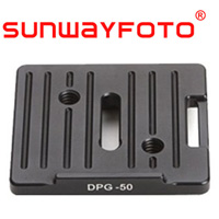 汎用クイックリリース・プレート Universal QR Plate 50mm DPG-50 SF0056 SUNWAYFOTO サンウェイフォト アルカスイス対応