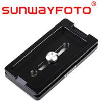 汎用クイックリリース・プレート Lensplate 76mm DPG-76 SF0060 SUNWAYFOTO サンウェイフォト アルカスイス対応