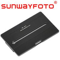 汎用クイックリリース・プレート QR Plate 8×13cm DP-813 中判・大判カメラ用 SF0065 SUNWAYFOTO  サンウェイフォト アルカスイス対応