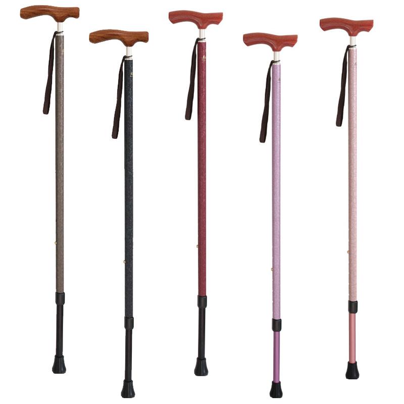 杖 軽量 介護 おしゃれ 女性 歩行杖 ステッキ カイノス 長さ調節杖 シナノ(SINANO) 男女兼用 和彩 WASAI おすすめ