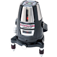 レーザー墨出し器 レーザーロボ Neo 51 BRIGHT 縦・横・大矩・通り芯×2・地墨 77362 レーザー 墨出し器 光学機器 建築 土木 測量 測定器 測量用品 シンワ測定