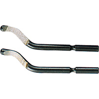 消耗品 替刃 面取りバー スリー用 S-10 2本入 78666 面取り バリ取り 工場用 工具 シンワ測定