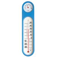 温湿度計 PCオーバル ブルー 48932 温度計 湿度計 健康管理 省エネ ベビー用品 シンワ測定