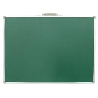 黒板 スチール製 SA 45×60cm 無地 横 77510 シンワ測定 【ブラックボード 取手付き マグネット使用可能 黒板消し チョーク3本付き スチール】 シンワ測定