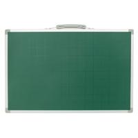 黒板 スチール製 SAS 30×45cm 無地 横 77533 シンワ測定 【ブラックボード 取手付き マグネット使用可能 黒板消し チョーク3本付き スチール】 シンワ測定