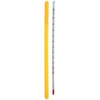 棒状温度計 H-5 アルコール 0〜100℃ 30cm 72547 温度測定 温度管理 地温 調理 料理 揚げ物用 天ぷら用 お菓子作り 湯せん シンワ測定