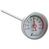 温度計 V-2 72610 育苗用 園芸 家庭菜園 温度測定 ステン ステンレス製 シンワ測定