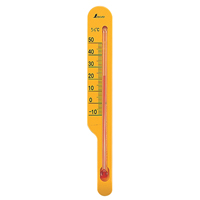 地温計 O-2 イエロー 72627 気温 地温 園芸 家庭栽培 家庭菜園 育苗 鉢植え 温度管理 温度測定 シンワ測定