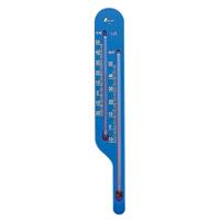 地温計 O-4 地温気温用 ブルー 72639 気温 地温 園芸 家庭栽培 家庭菜園 育苗 鉢植え 温度管理 温度測定 シンワ測定